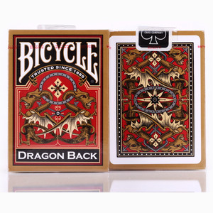 Bicycle Dragon Back Red